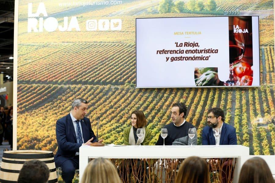 La Rioja exhibe su músculo enoturístico y gastronómico en Fitur 1