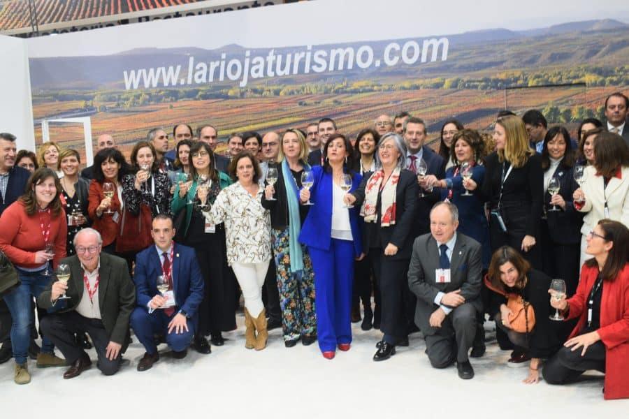 Maridaje entre cultura, vino y gastronomía en la primera jornada de La Rioja en Fitur 2020 4