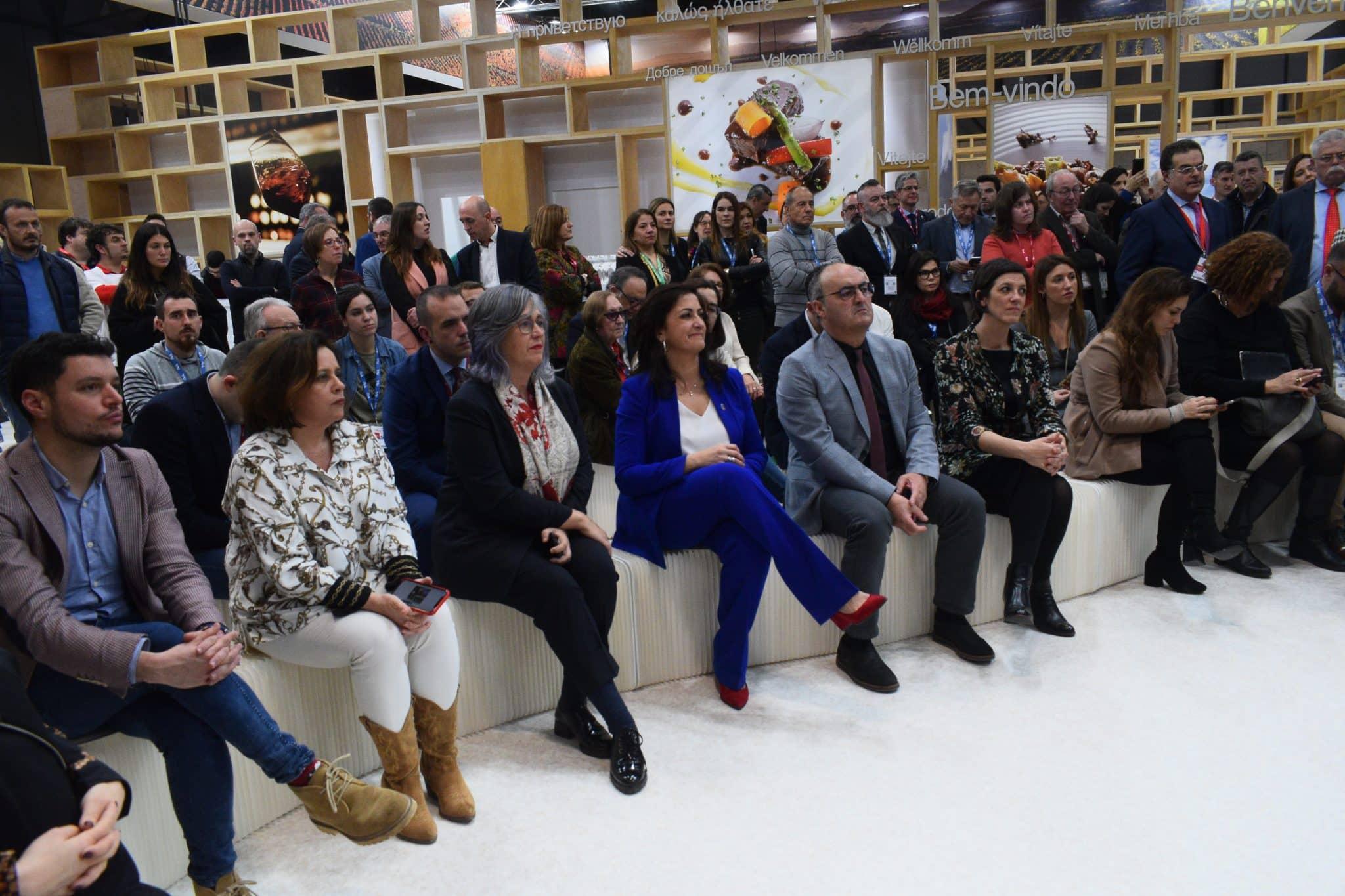La Rioja busca en Fitur convertirse en la región enoturística por excelencia a nivel mundial 2