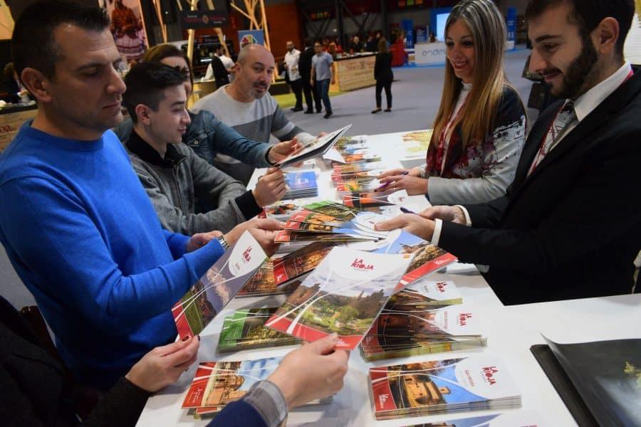 La Rioja da los primeros pasos en Fitur para convertirse en referencia mudial del entorismo 5