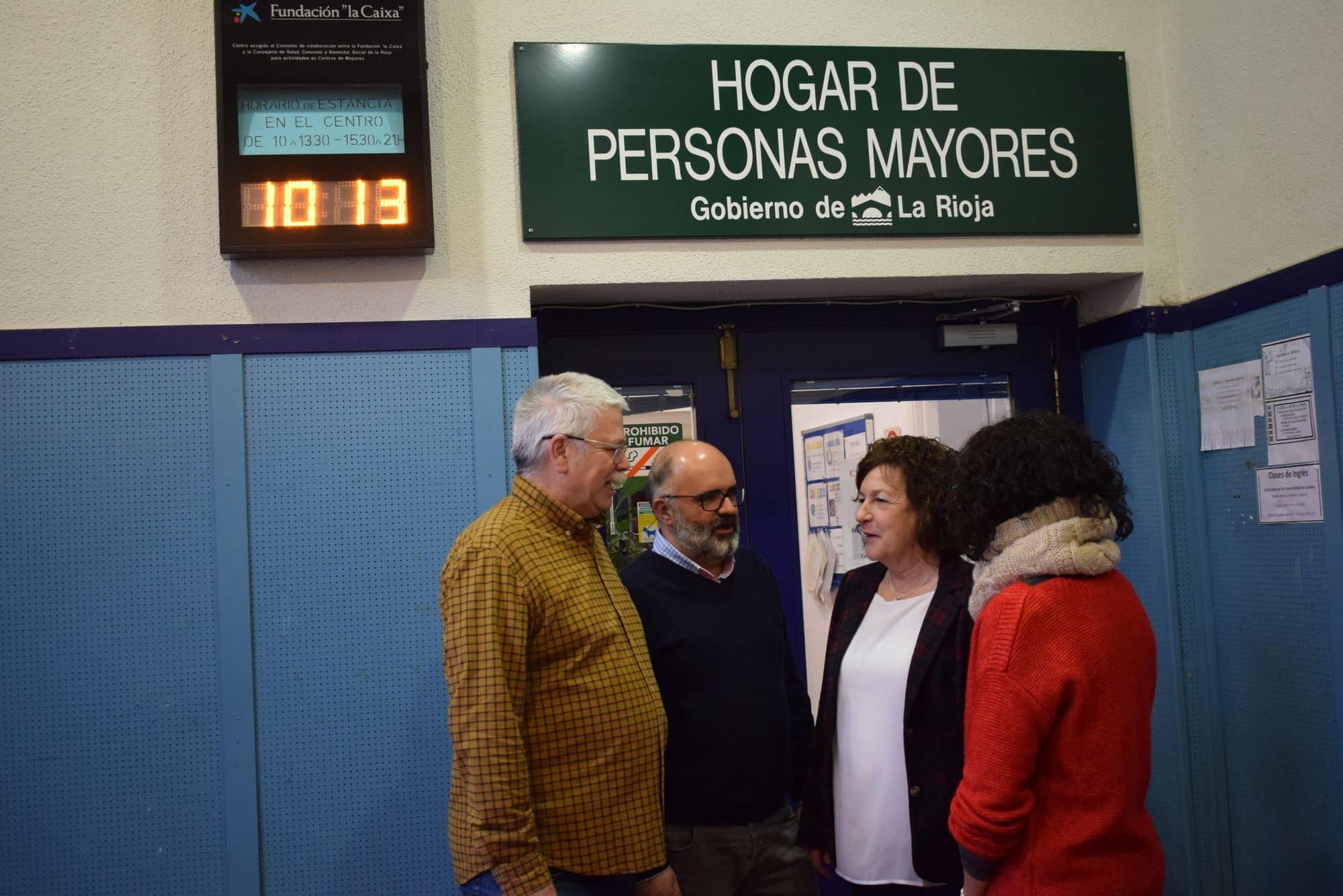 Visita Ana Santos Centro de Dia Haro