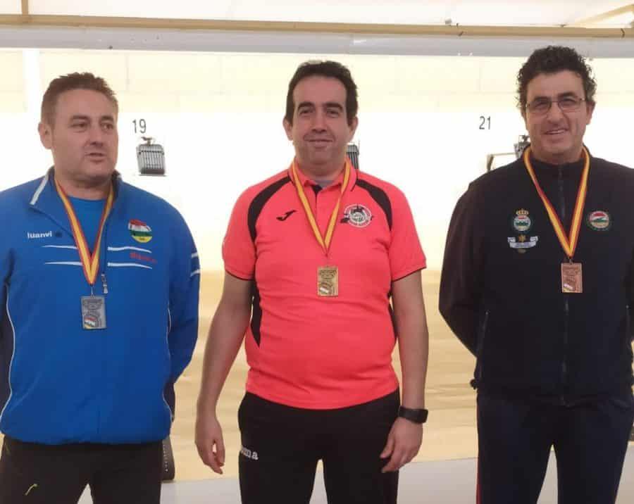 Cuatro medallas para el Club de Tiro Rioja Alta en el Campeonato de La Rioja de aire comprimido 1