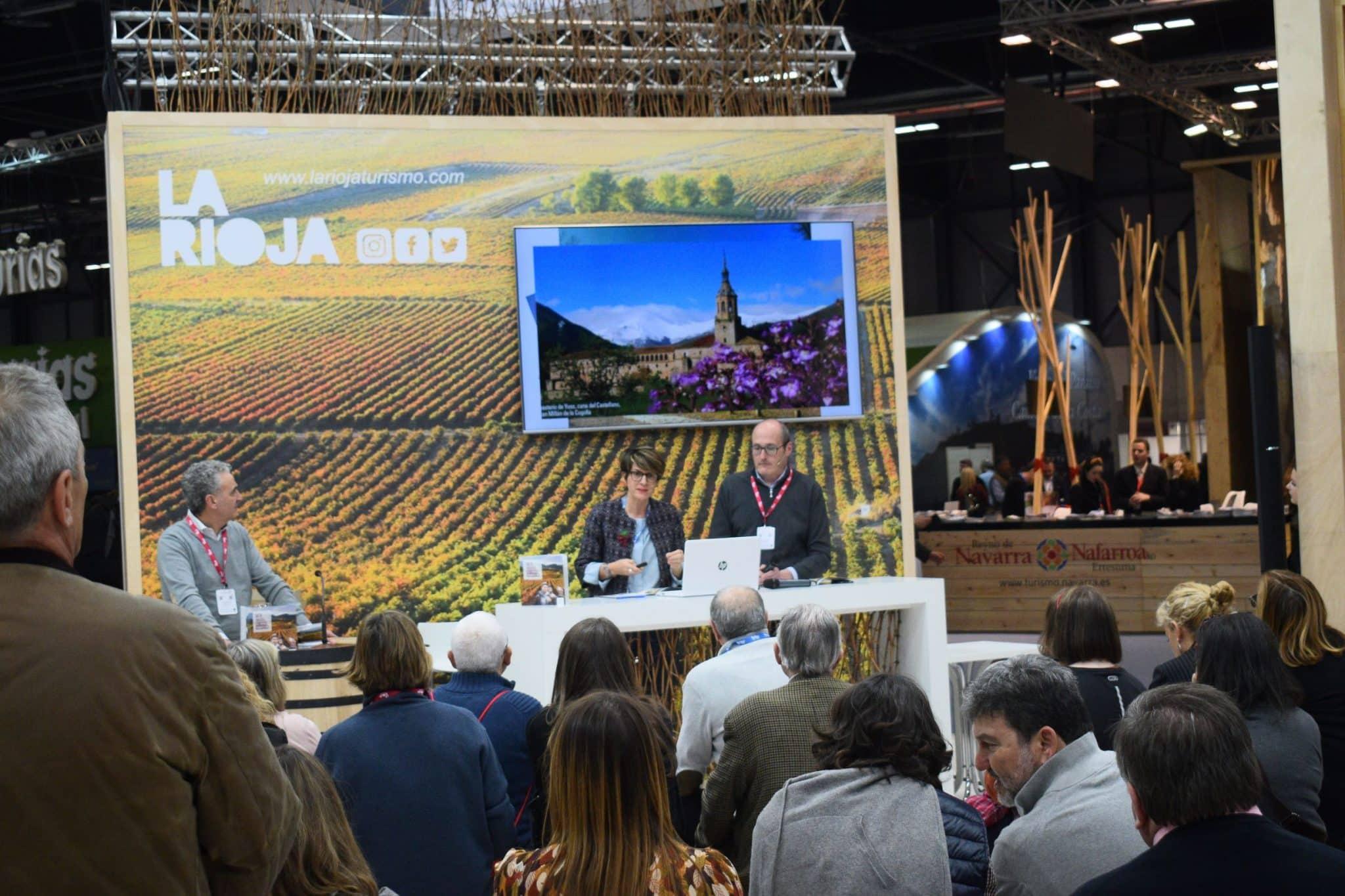 La Rioja da los primeros pasos en Fitur para convertirse en referencia mudial del entorismo 1