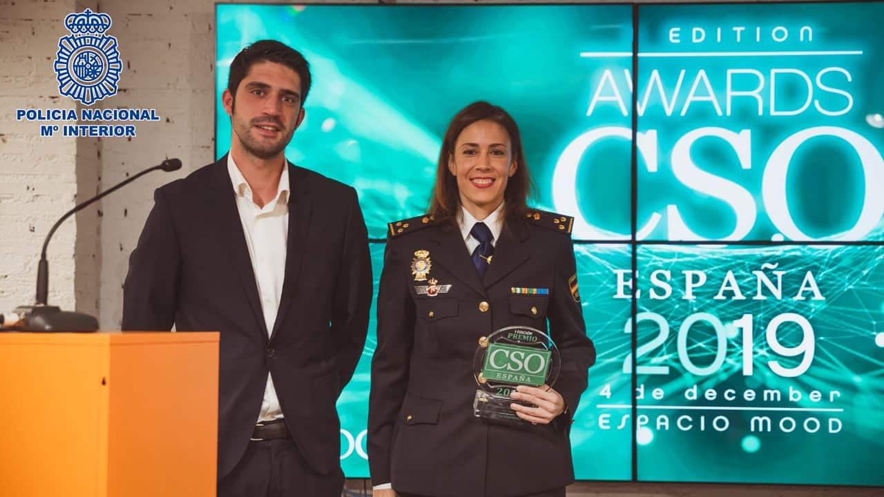 La inspectora Silvia Barrera, galardonada como máxima experta y referente en ciberseguridad 1