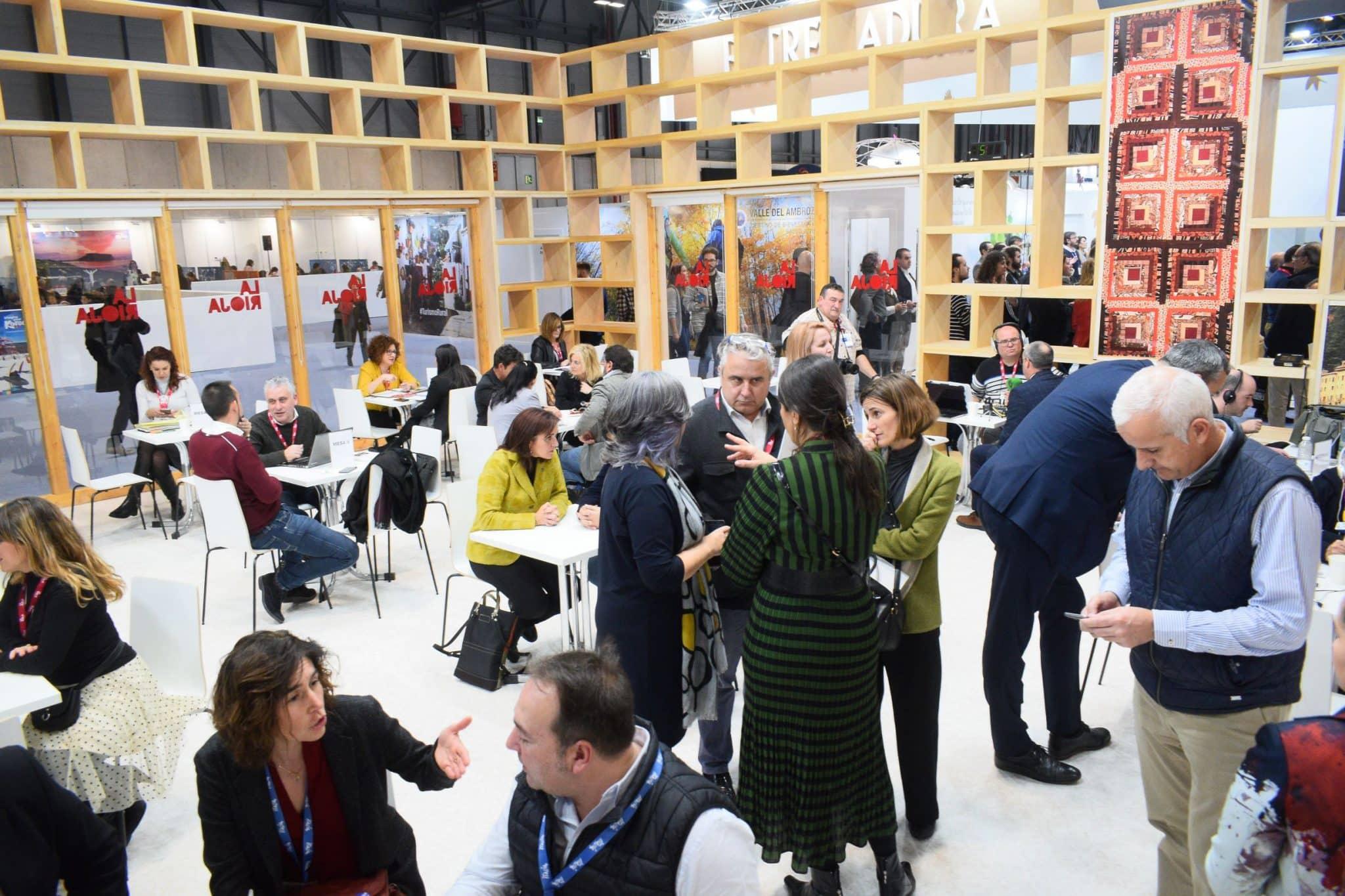 La Rioja da los primeros pasos en Fitur para convertirse en referencia mudial del entorismo 2