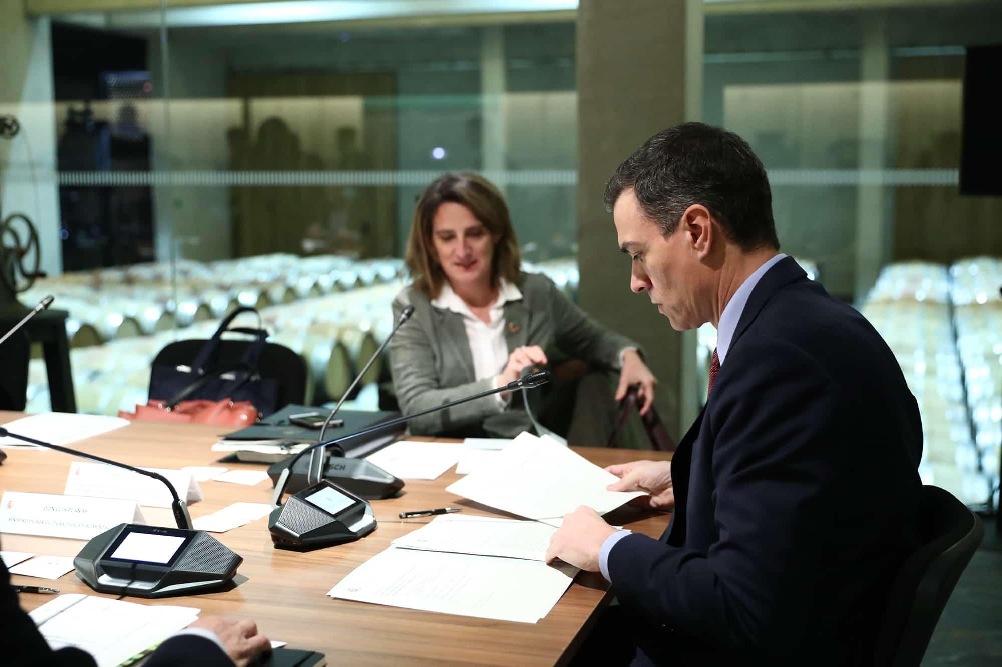 Sánchez preside en La Rioja la primera reunión de la Comisión Delegada para el Reto Demográfico 2