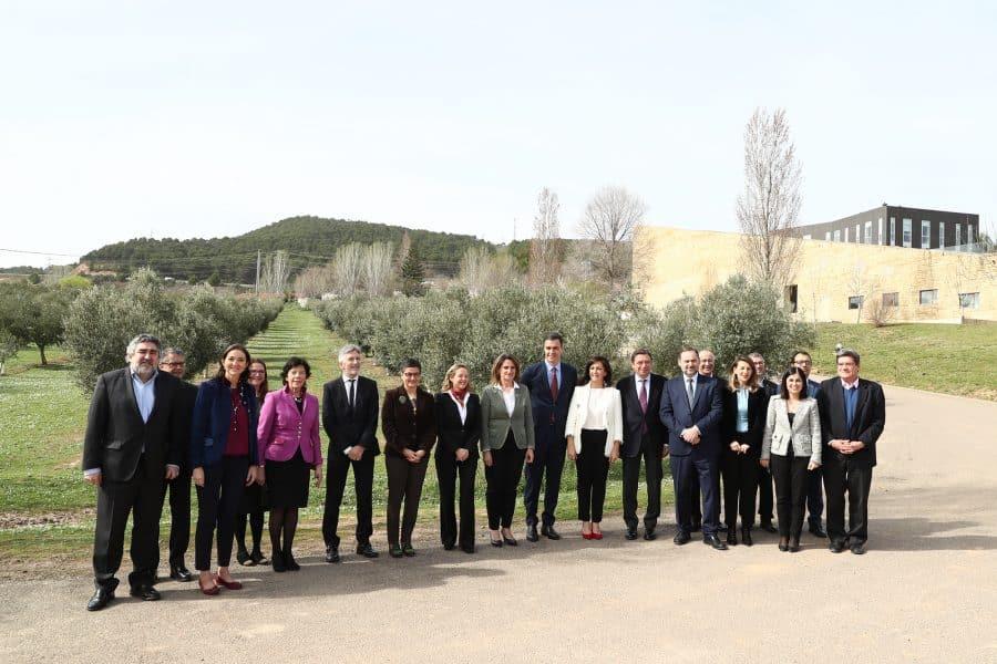 Sánchez preside en La Rioja la primera reunión de la Comisión Delegada para el Reto Demográfico 4