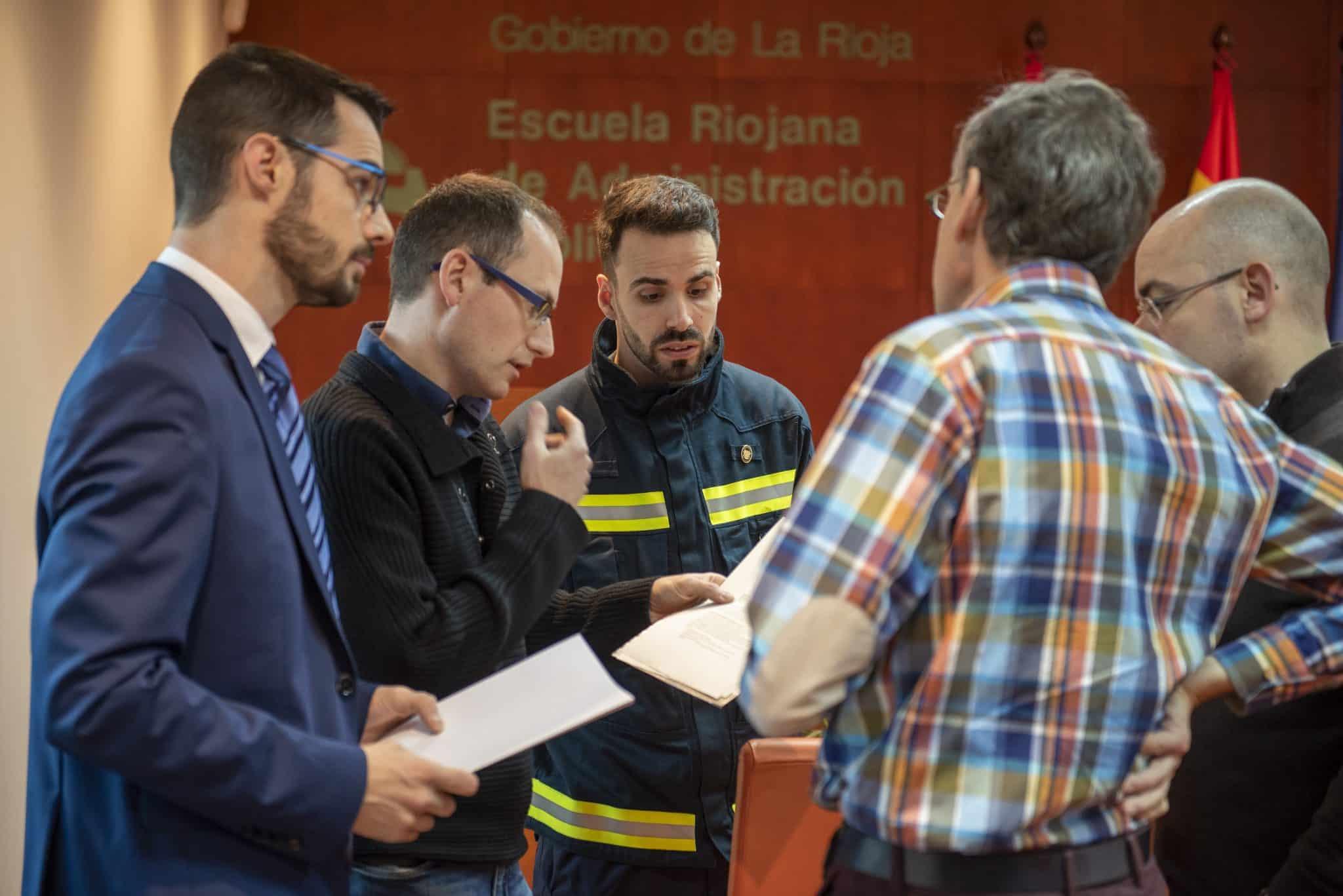 70 profesionales de emergencias participan en una jornada sobre intervención en patrimonio cultural en La Rioja 2