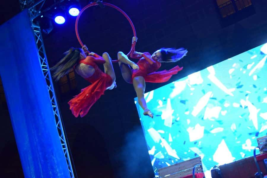 FOTOS: El Carnaval del Vino de Haro viajó en el Orient Express 5