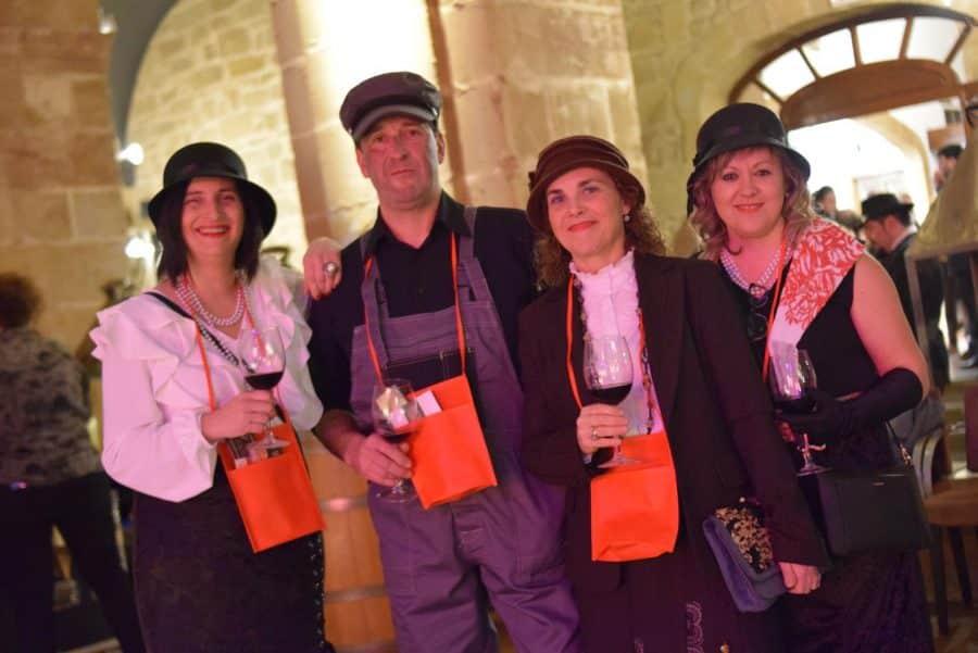 FOTOS: El Carnaval del Vino de Haro viajó en el Orient Express 15