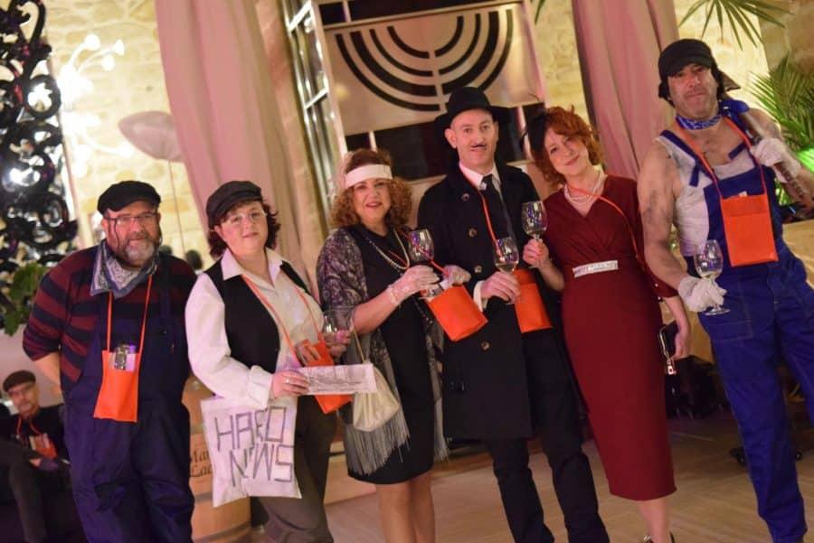 FOTOS: El Carnaval del Vino de Haro viajó en el Orient Express 16