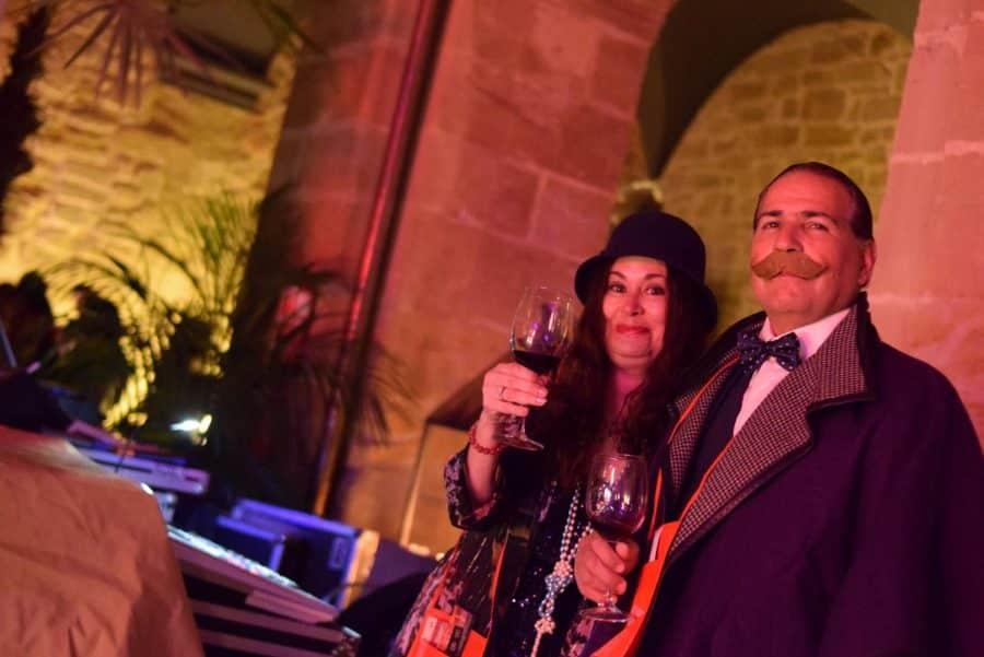 FOTOS: El Carnaval del Vino de Haro viajó en el Orient Express 29