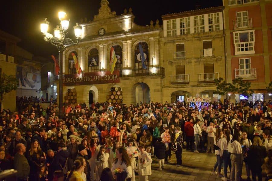FOTOS: El Carnaval Popular de Haro más multitudinario 1