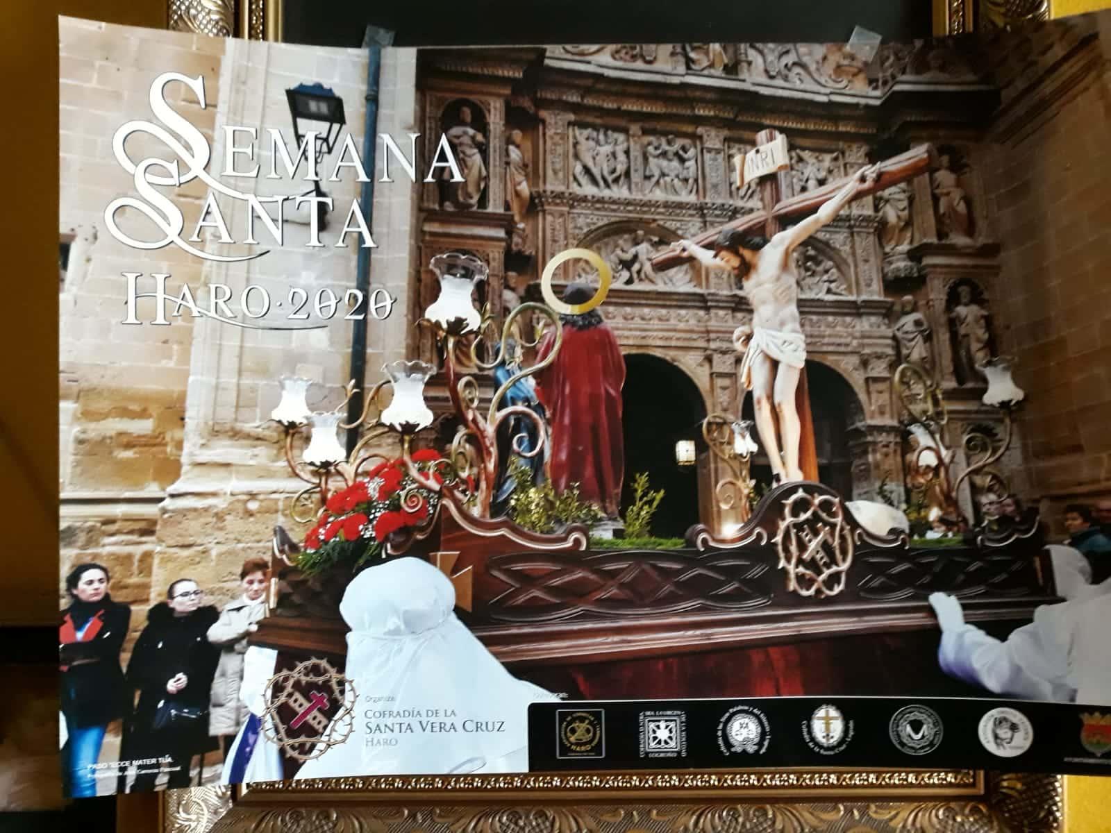 La Cofradía de la Santa Vera Cruz cierra los actos de la Semana Santa de Haro 2