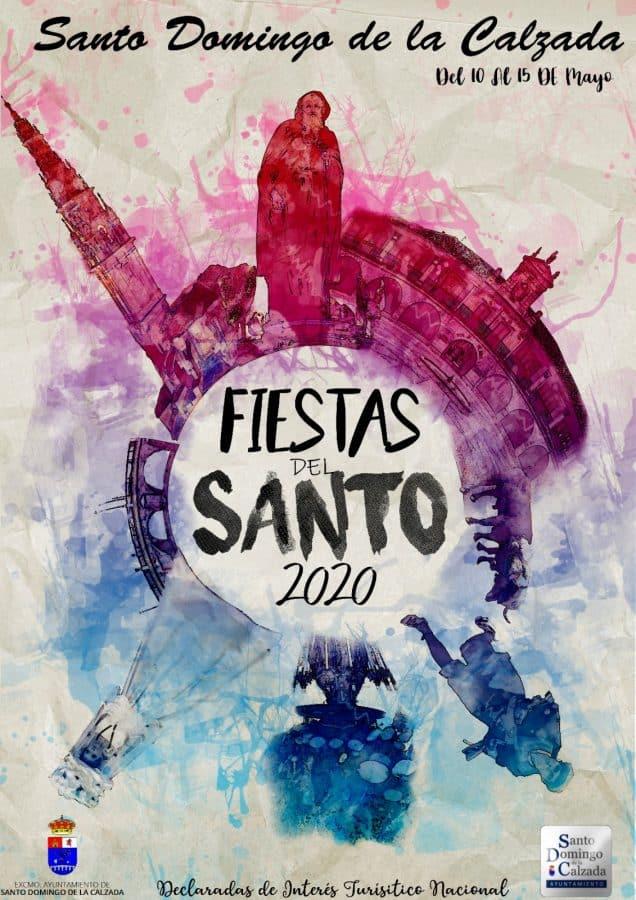 Los finalistas del concurso del cartel de las Fiestas del Santo 2020 2