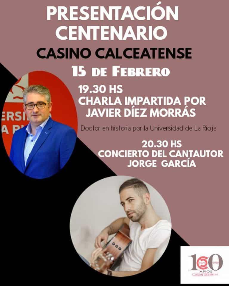 El Casino Calceatense abre este sábado los actos de su primer centenario 1