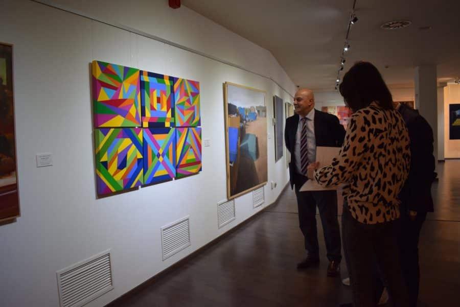 El Torreón de Haro acoge las obras del Certamen de Pintura 'Ciudad de Calahorra' 10