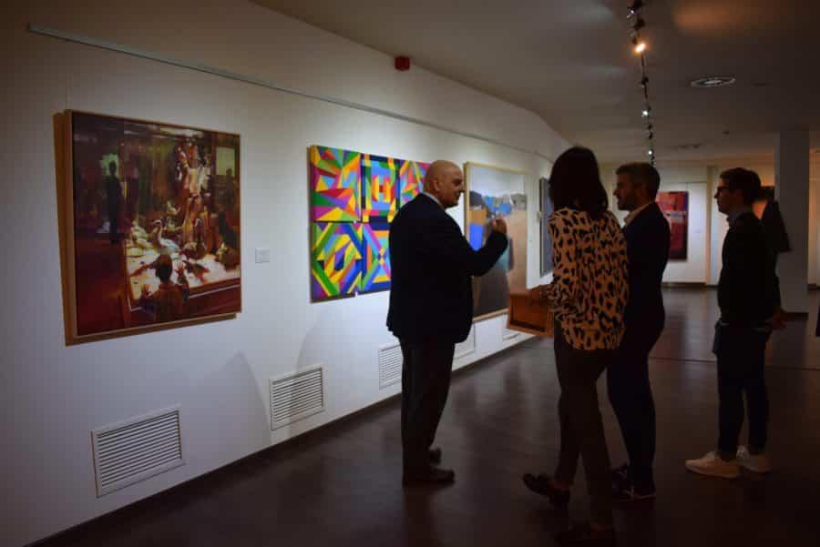 El Torreón de Haro acoge las obras del Certamen de Pintura 'Ciudad de Calahorra' 4