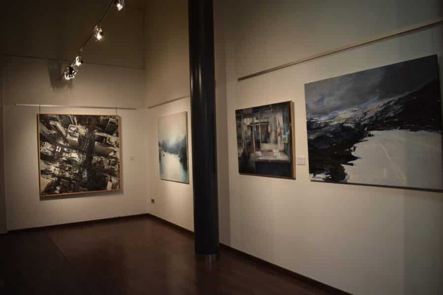 El Torreón de Haro acoge las obras del Certamen de Pintura 'Ciudad de Calahorra' 2