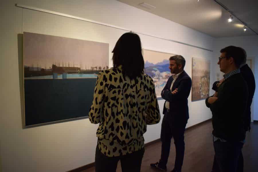 El Torreón de Haro acoge las obras del Certamen de Pintura 'Ciudad de Calahorra' 6