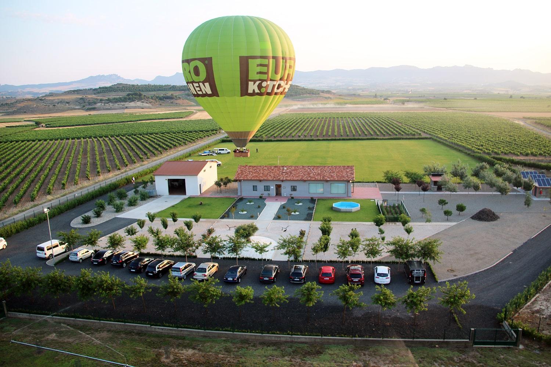 'Cuzcusky 2020', primer encuentro de globos aerostáticos en Cuzcurrita de Río Tirón 1