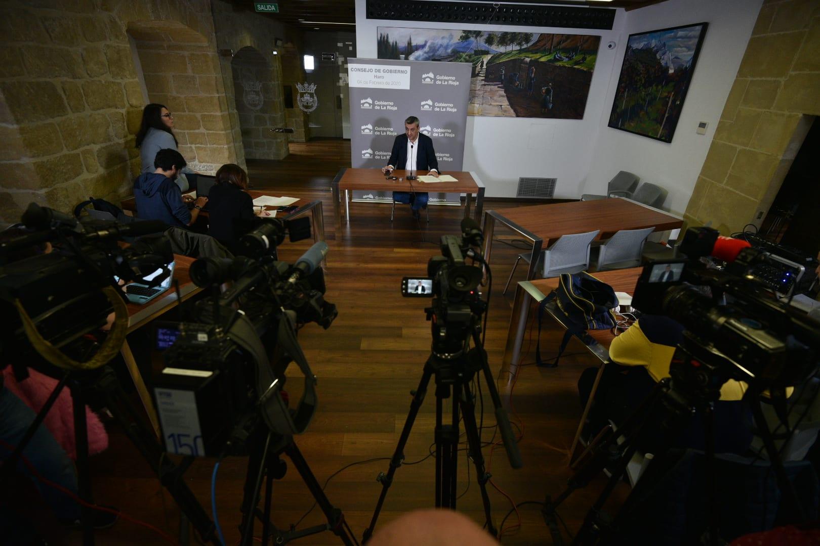 Los acuerdos del Consejo de Gobierno celebrado en Haro 1