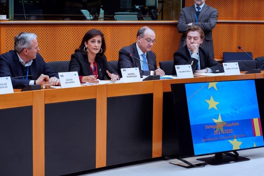 Andreu, elegida vicepresidenta del Grupo Socialista en el Comité de las Regiones de la UE 1