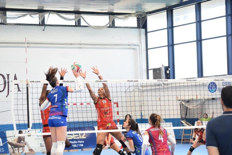 Un aguerrido OSACC Haro cae ante Menorca en un apasionante partido 4