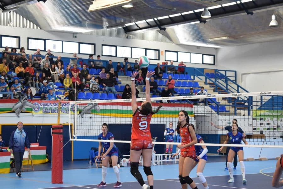 Un aguerrido OSACC Haro cae ante Menorca en un apasionante partido 11
