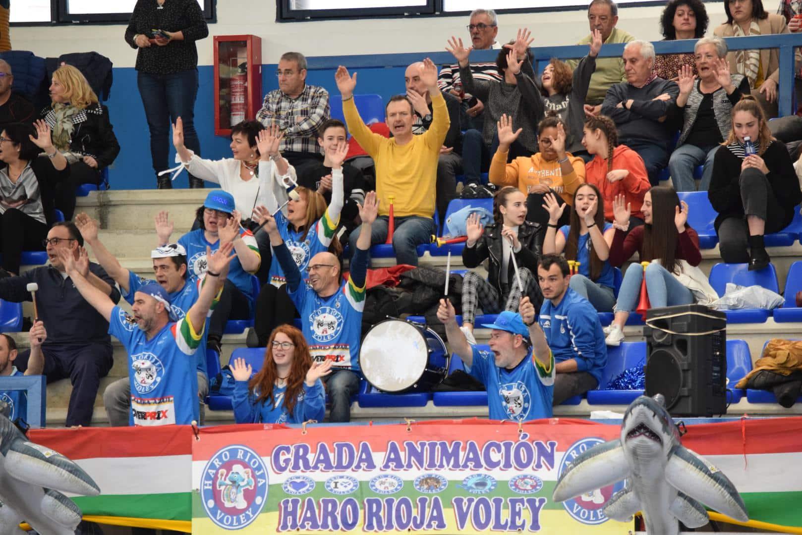 Un aguerrido OSACC Haro cae ante Menorca en un apasionante partido 2