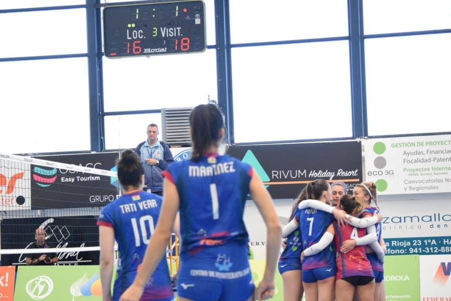 Un aguerrido OSACC Haro cae ante Menorca en un apasionante partido 6