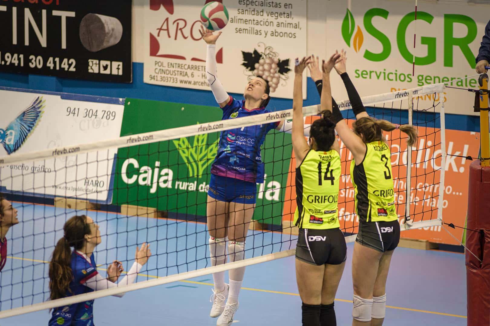 El OSACC Haro gana a Sant Cugat y logra su sexto triunfo consecutivo 3