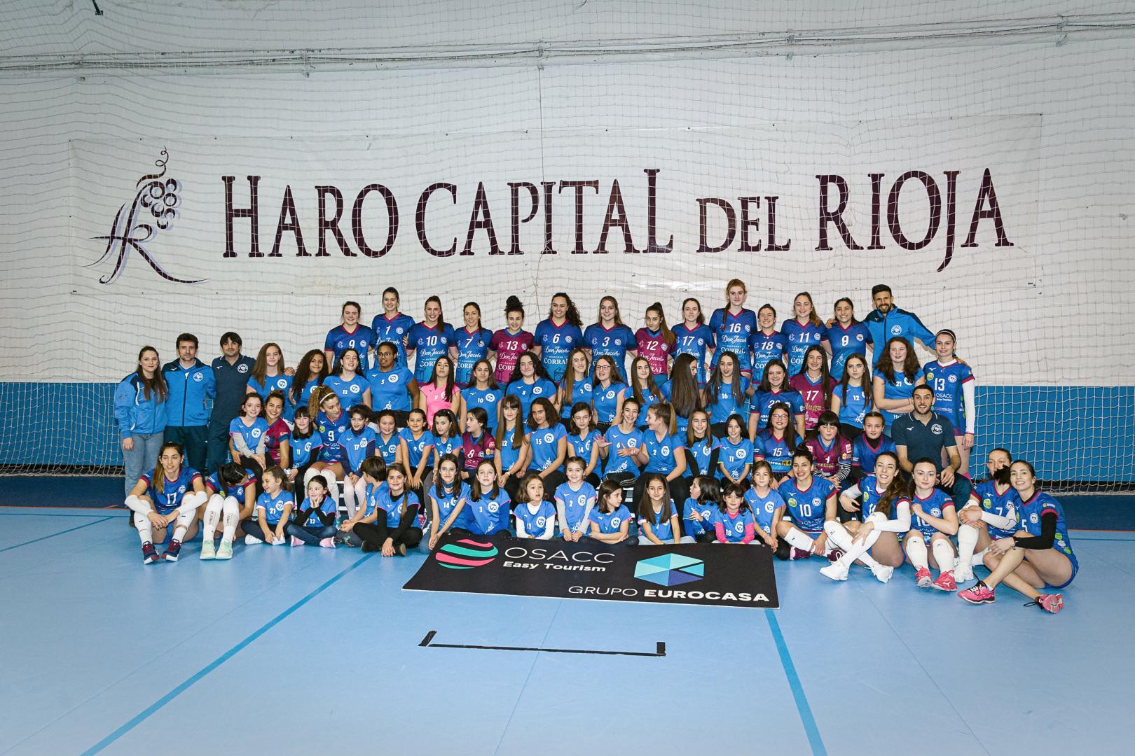 El OSACC Haro gana a Sant Cugat y logra su sexto triunfo consecutivo 2