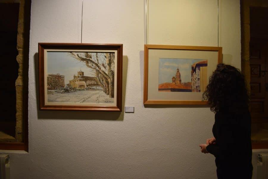 La Fundación Caja Rioja desempolva una veintena de pinturas con Haro como protagonista 6