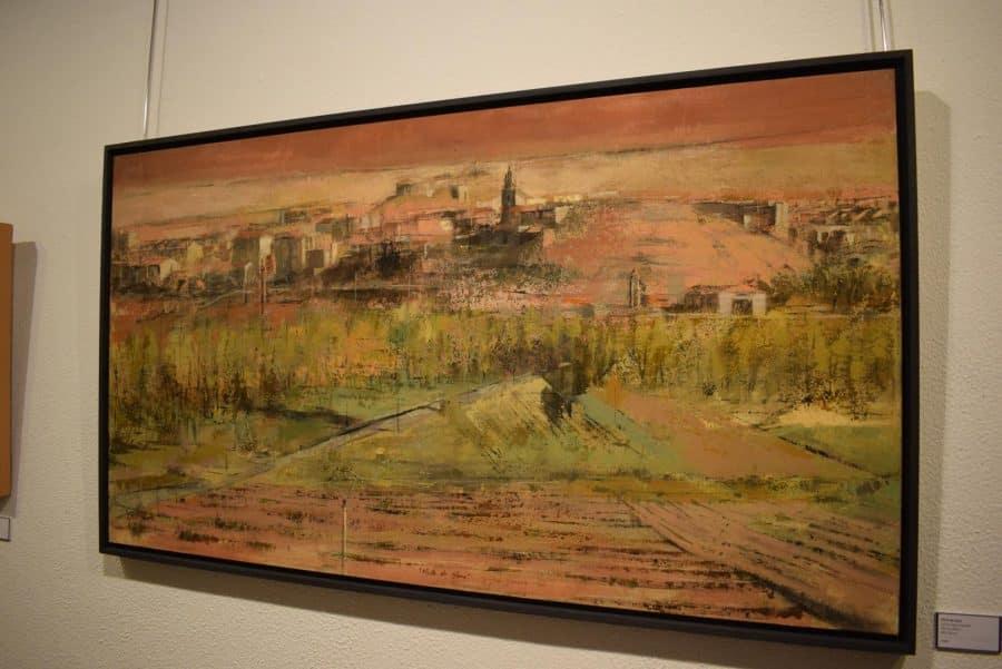 La Fundación Caja Rioja desempolva una veintena de pinturas con Haro como protagonista 8