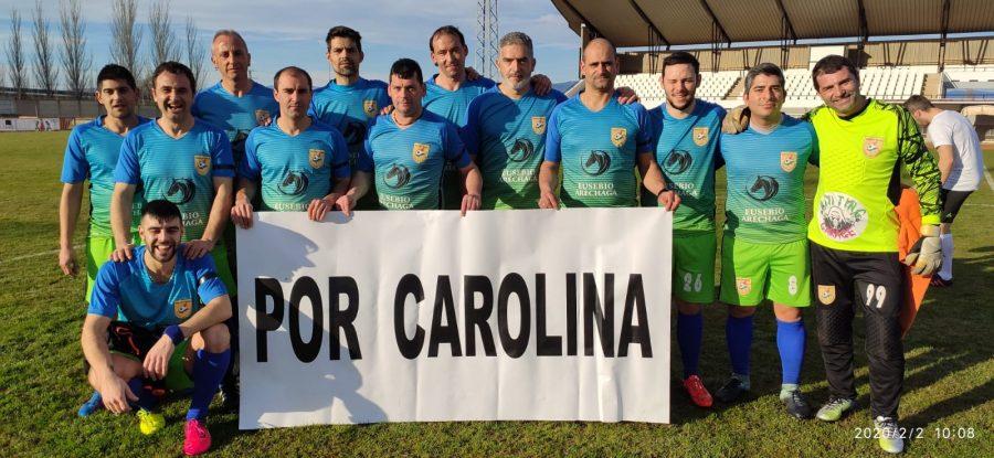 El Deportivo Riojano y Alfaro recuerdan a Carolina 1