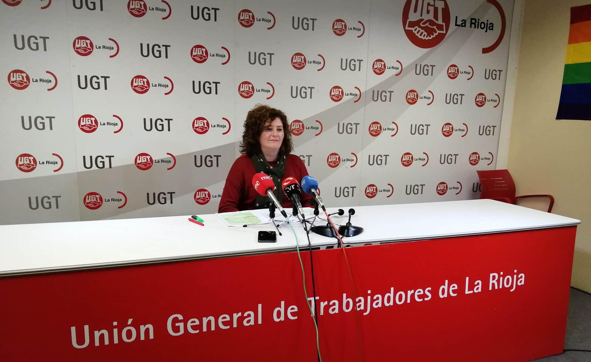 Ana Victoria del Vigo UGT La Rioja