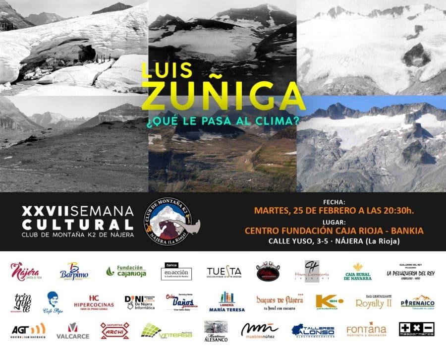 Comienza en Nájera la Semana Cultural de Montaña del Club K2 2