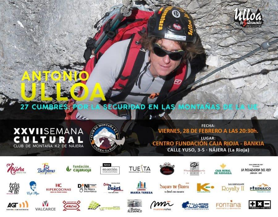 Comienza en Nájera la Semana Cultural de Montaña del Club K2 3