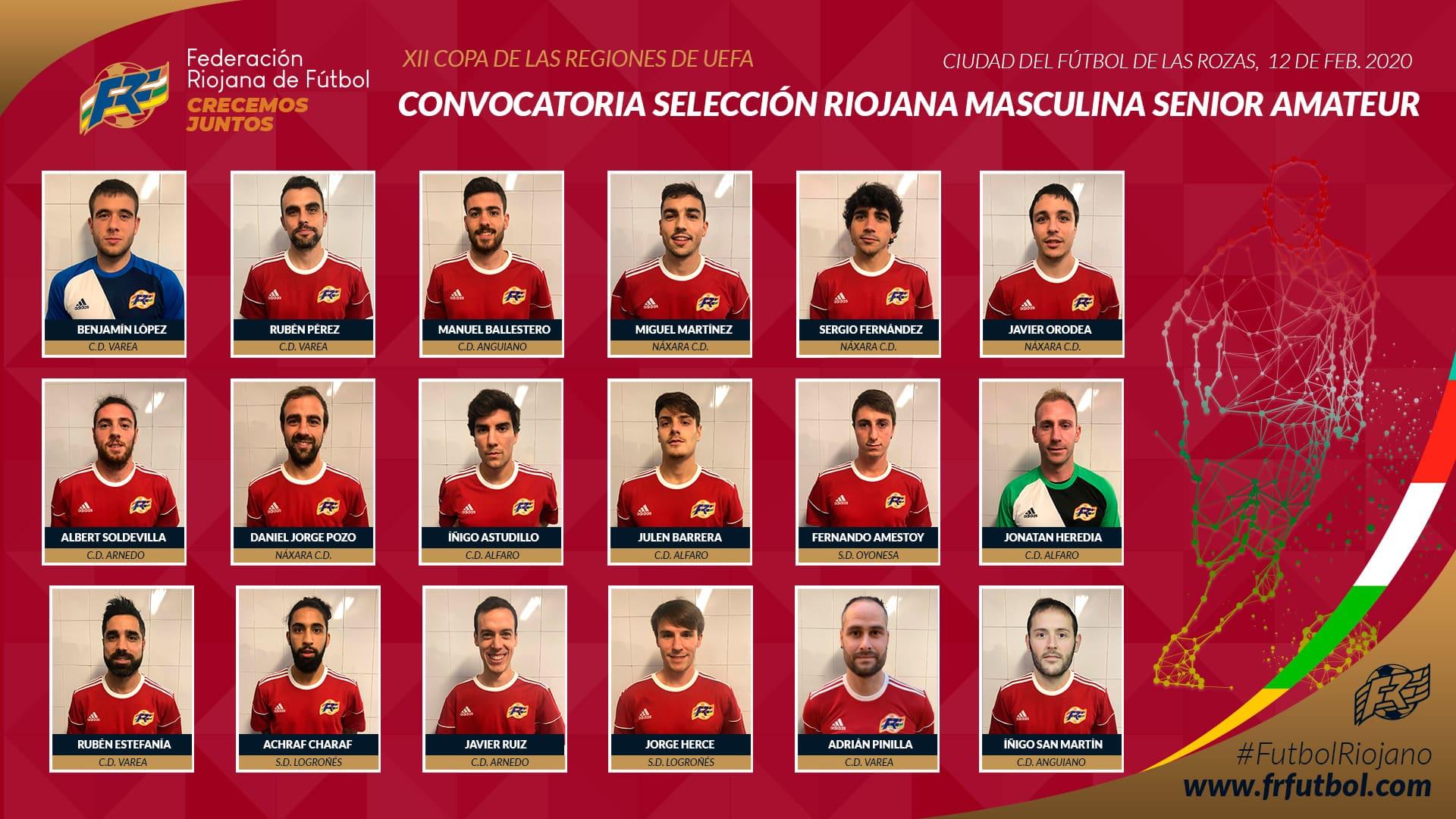 La Rioja se mide a Baleares por un puesto en las 'semis' de la Copa de las Regiones UEFA 1