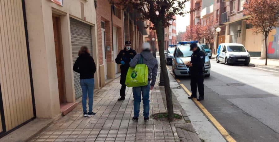 La Policía Local de Santo Domingo denuncia a 12 personas por saltarse el aislamiento 2