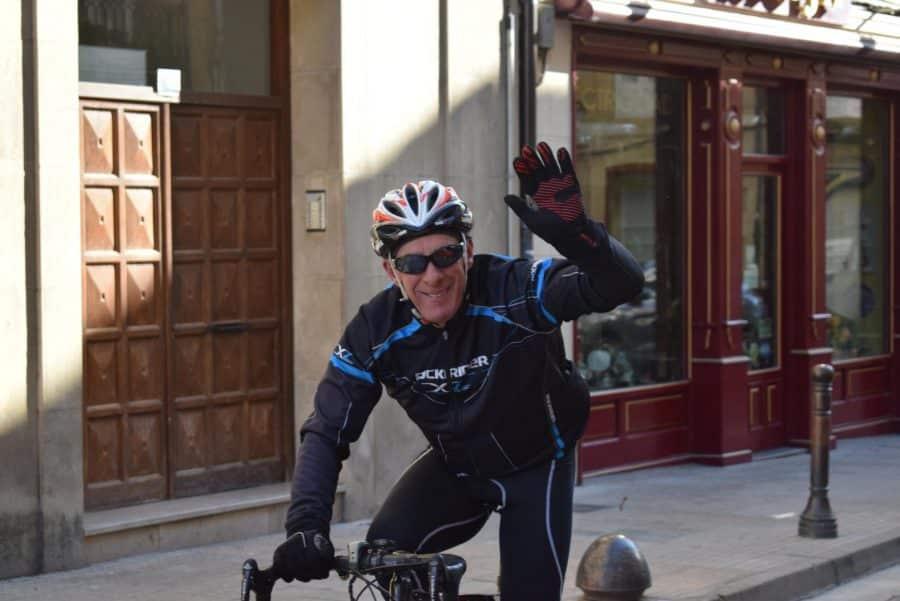 El pelotón del Club Ciclista Harense se echa a la carretera 7