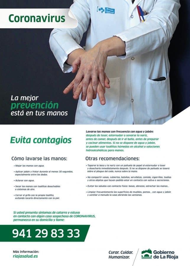 """Coronavirus en La Rioja: """"El personal tiene todo el equipamiento y toda la información que necesita"""" 2"""