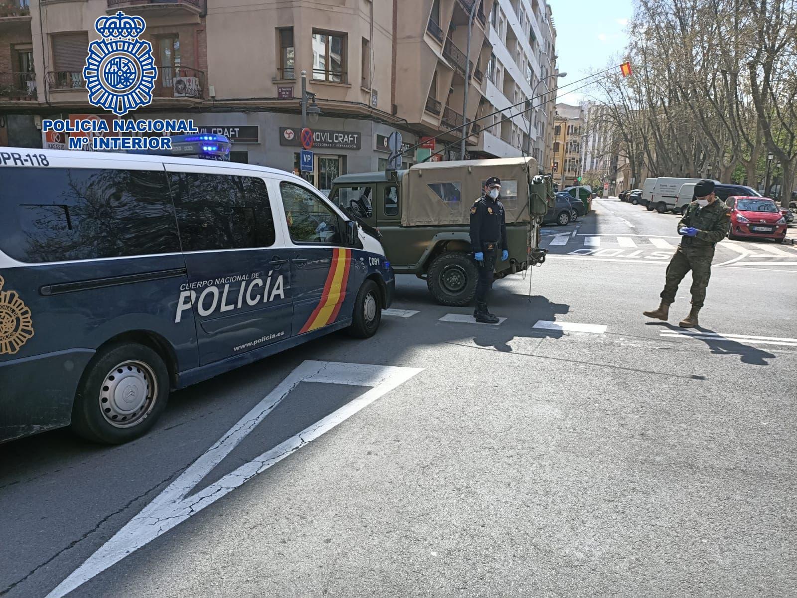 Sancionado un varón en tres ocasiones en menos de 24 horas en Logroño 2