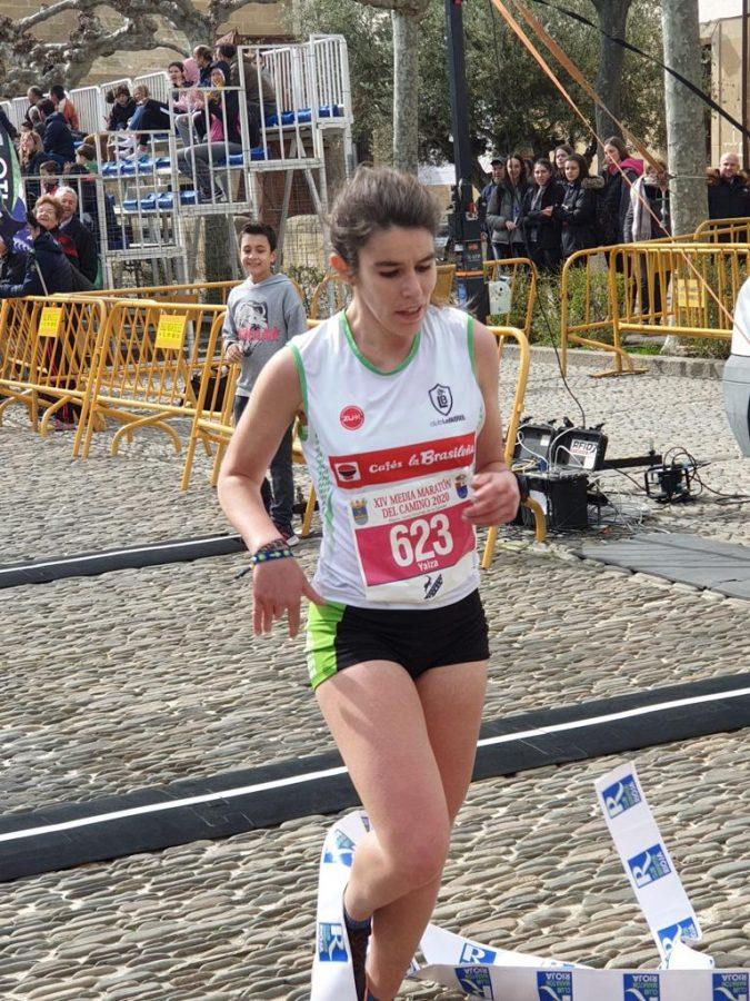 David Rioja y Rebeca Villamor, campeones de la Media Maratón del Camino 2020 4