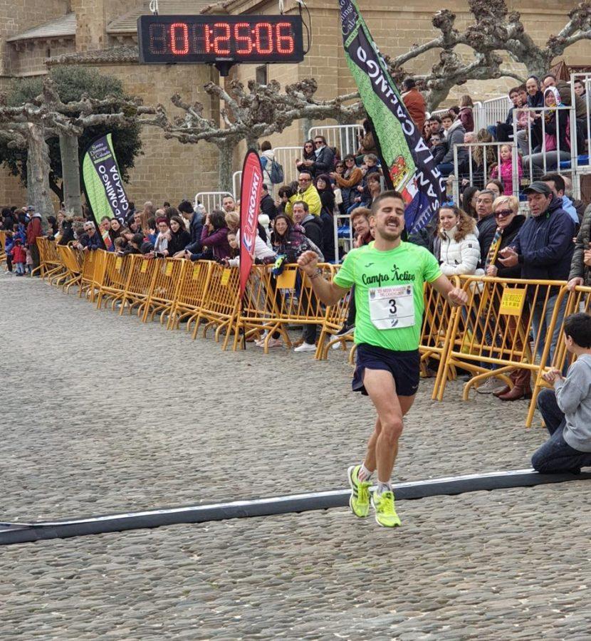 David Rioja y Rebeca Villamor, campeones de la Media Maratón del Camino 2020 3