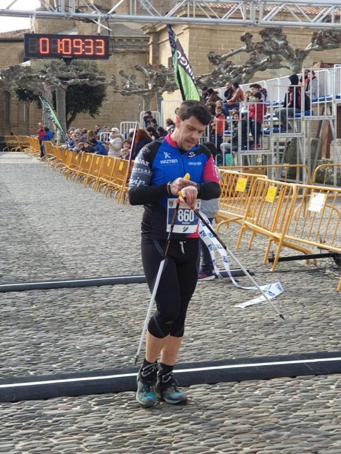 David Rioja y Rebeca Villamor, campeones de la Media Maratón del Camino 2020 2