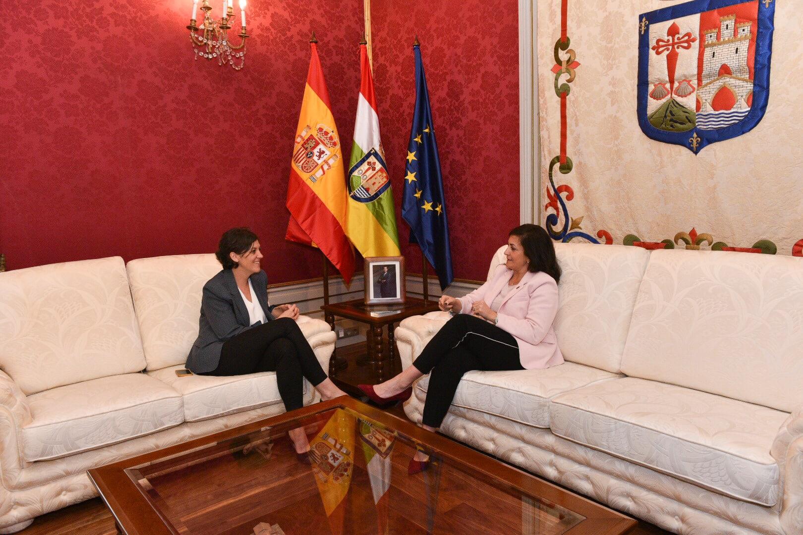 """Andreu y Marrodán aseguran que trabajarán para que La Rioja """"crezca de una forma sostenida y sostenible"""" 1"""