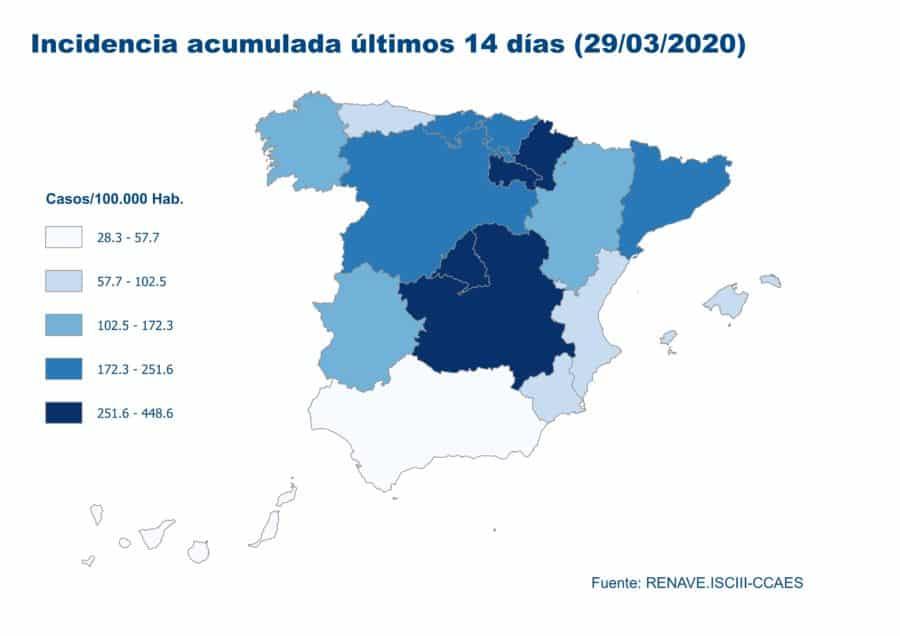 La Rioja registra más de 1.700 casos acumulados y tres fallecidos más por coronavirus 3