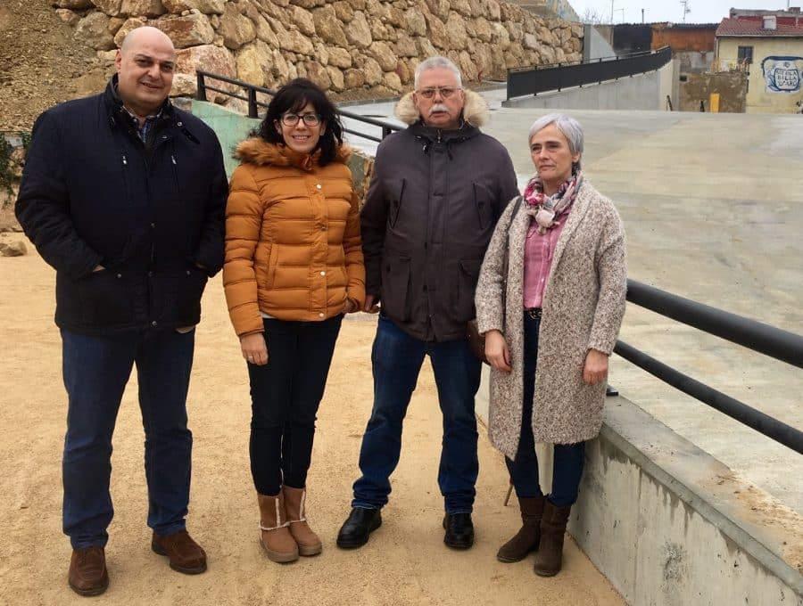 Finalizan las obras de urbanización de Pilar Bajo en Haro 1